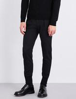 Paul Smith Black Pleated Formal Pants