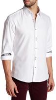 Stone Rose Jacquard Shirt