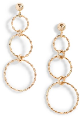 Set & Stones Royce Graduated Circle Drop Earrings
