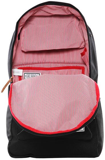 Herschel Heritage Plus Backpack in Black