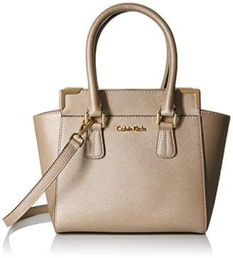 Calvin Klein On My Corner Saffiano Leather Crossbody