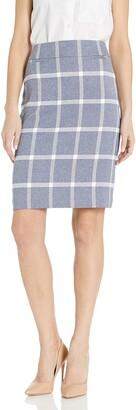 Tahari ASL Women's Pencil Skirt with Pockets