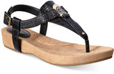 Giani Bernini Raisaa Footbed Sandals, Only at Macy's