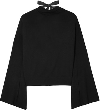 ADEAM Tie-back Knitted Sweater