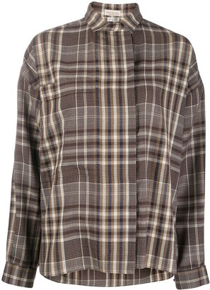 Versace Pre-Owned 1980s Check Shirt