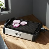 Crate & Barrel DeLonghi ® 2-in-1 Grill and Griddle