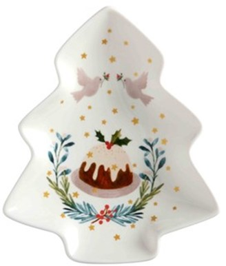 Maxwell & Williams Lappland Tree Dish 16cm Gift Boxed