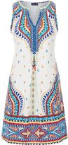 Hale Bob Sleeveless Embellished Dress