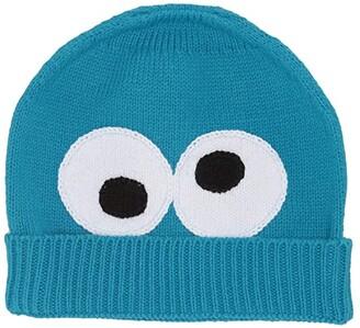 finn + emma Isaac Mizrahi Loves Sesame Street Cookie Beanie (Toddler) (Blue) Beanies