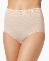 Vanity Fair Flattering Lace Stretch Brief 13281