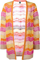 M Missoni open front cardigan - women - Cotton/Polyamide/Viscose/Metallic Fibre - 42