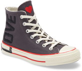 Converse Chuck Taylor(R) All Star(R) 70 Love Fearlessly High Top Sneaker