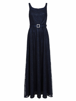 Adrianna Papell Dot Sequin Gown