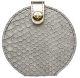 Stephanie Johnson Python Embossed Mini Travel Mirror