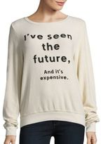 Wildfox Couture Clairvoyant Long Sleeve Pullover