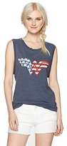 Junk Food Clothing Women's Wonder Woman Graphic Muscle Tank Top
