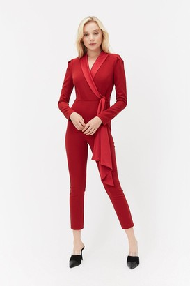 Coast Long Sleeve Tux Jumpsuit