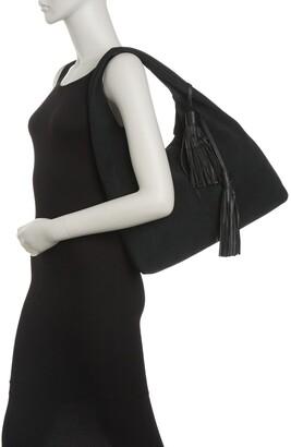 Rachel Zoe Mitchel Suede Hobo Bag