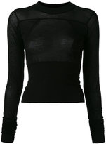 Rick Owens longsleeved T-shirt - women - Cotton - S