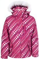 Trespass Youths Girls Ameera Zip Up Hooded Waterproof Ski Jacket