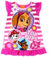 Paw Patrol Toddler Nightgown Pajamas (, Top Pups )
