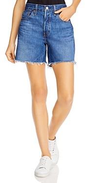 Levi's 501 Cotton Cutoff Denim Shorts