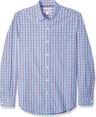 Amazon Essentials Men's Slim-Fit Long-Sleeve Casual Poplin Shirt