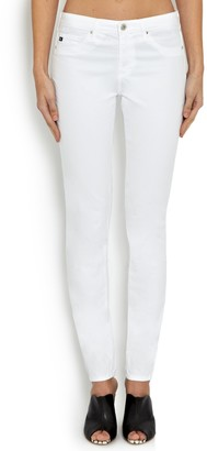 AG Jeans The Prima Mid Rise Skinny Jeans, White