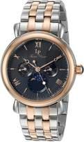 Lucien Piccard Men's 'Sierra' Quartz Stainless Steel Casual Watch (Model: LP-40007-SR-11)
