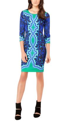 Hale Bob 3/4-Sleeve Dress