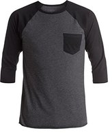 Quiksilver Men's Pocket Raglan T-Shirt