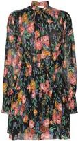 Zimmermann Allia shirred floral mini-dress