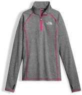The North Face Pulse Stretch Half-Zip Pullover, Gray, Size XXS-XL