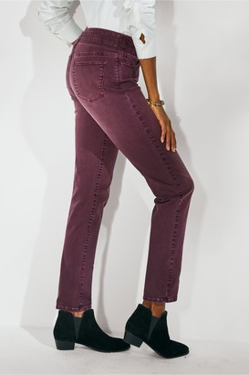 Women The Ultimate Denim Pull On Relaxed Straight Jeans