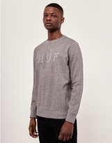 HUF Shadow Crew Neck Sweatshirt Grey