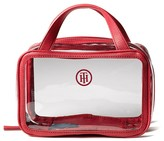 Tommy Hilfiger Clear Train Case Toiletry Bag