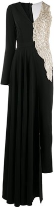 Loulou Embellished Skirted Jumpsuit