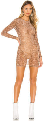 superdown Talia Mesh Dress