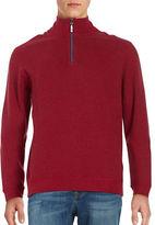 Tommy Bahama New Flip Side Pro Reversible Quarter-Zip Sweater