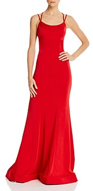 Couture Faviana Lace-Up Gown