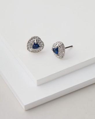 Swarovski One Heart Sapphire Earrings