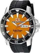 Seapro Men's SP8314 Analog Display Quartz Black Watch