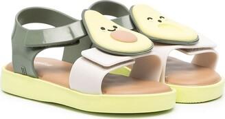 Mini Melissa Jump Fruitland applique sandals