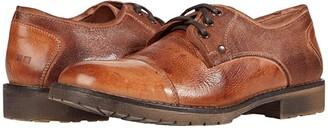 Bed Stu Repeal (Tan Dip-Dye) Men's Lace Up Cap Toe Shoes