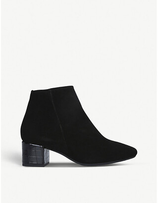 Carvela Comfort Rolo suede ankle boots