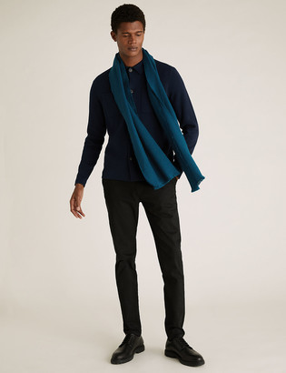 Marks and Spencer Geometric Textured Scarf