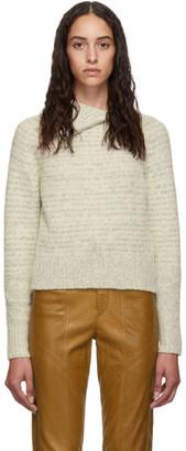 Isabel Marant Off-White Arctic Knit Effy Turtleneck