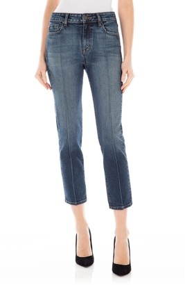 Fidelity Arcadia Cropped Seamed Jeans