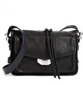 Rag & Bone Small Field Leather Messenger Bag - Black