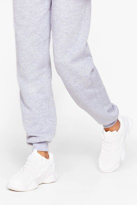 Nasty Gal Womens PU wide fit mono Chunky trainers - White - 3